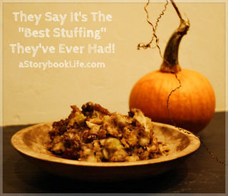 Stuffing Recipe | by A Storybook Life