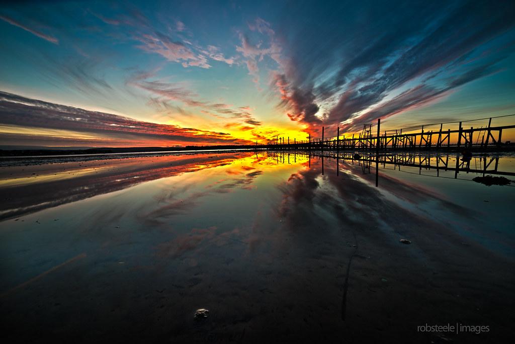 Sony A7R + Samyang 14mm/f2 8 | Sunsset over Poole Harbour