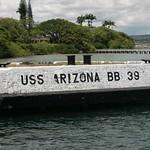 USS Arizona BB 39, Oahu