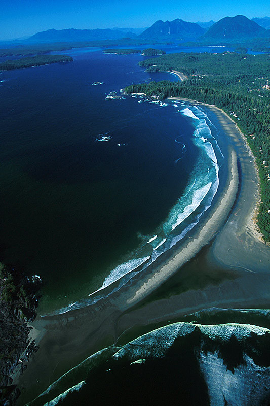 Chesterman Beach, Tofino, Vancouver Island, British Columbia