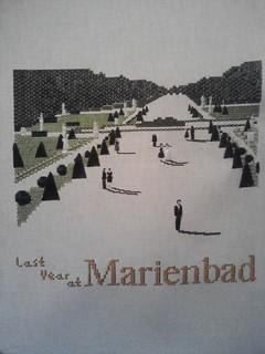 55 Marienbad unframed | by jamiesuzanne77
