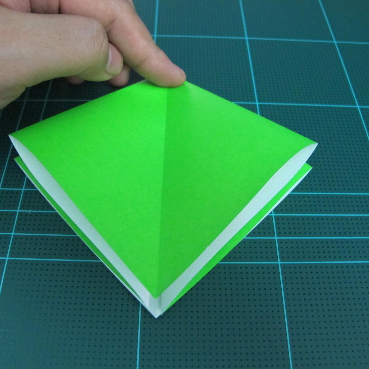 วิธีพับกระดาษเป็นจรวด X-WING สตาร์วอร์ (Origami X-WING) 005