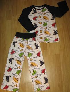 FD raglan comfy pants PJ