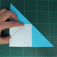การพับกระดาษเป็นรูปตัวเม่นแคระ (Origami Hedgehog) 006