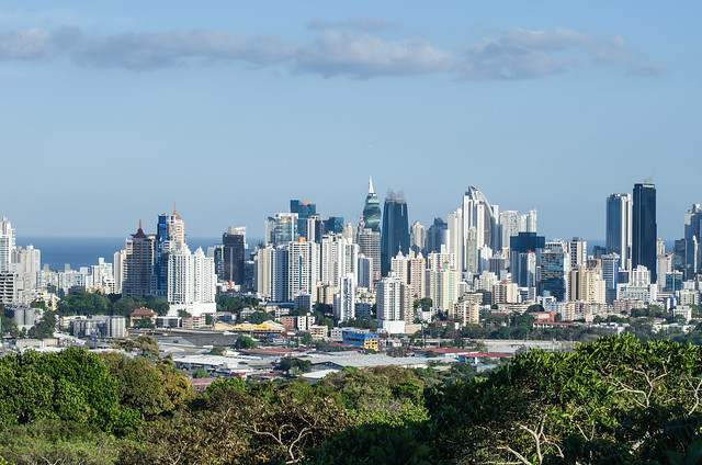 [Explore] Panama City (2014), View fromThe Metropolitan National Park