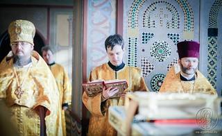 Литургия в Софийском соборе 220
