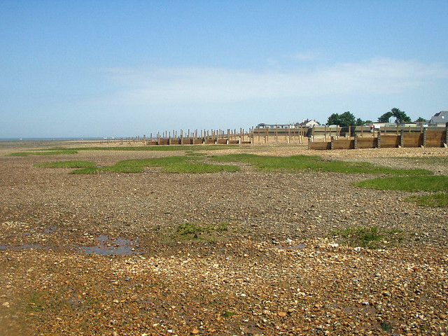 The beach at Whitstable