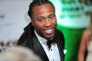 Larry Fitzgerald | by Gage Skidmore