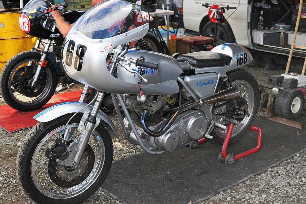 1970 Norton Commando 750cc The 8th Mountain Thunder Street Flickr