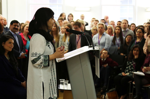 Malala Yousafzai speaks to DFID staff | by DFID - UK Department for International Development
