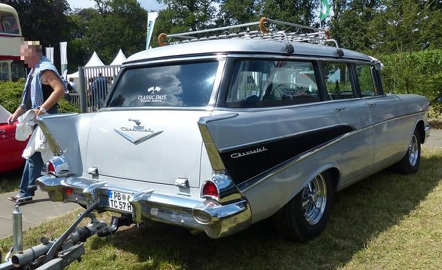 1957 Chevrolet Townsman Wagon 4 Door hr