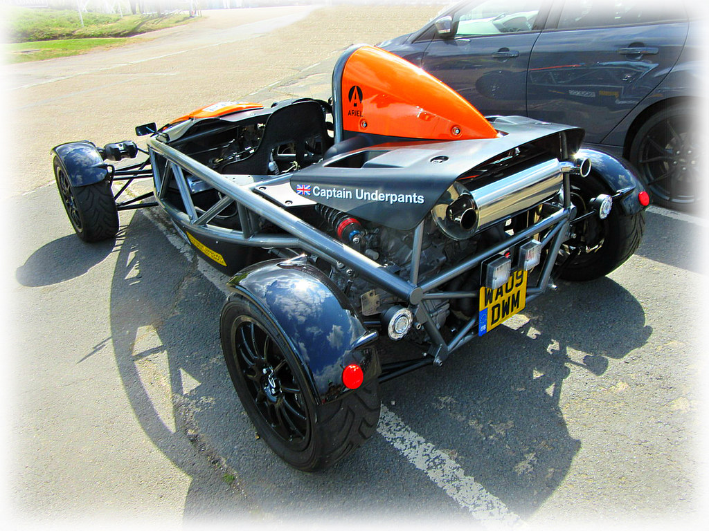 Captain Underpants ! - Ariel Atom * | * The Ariel Atom is a
