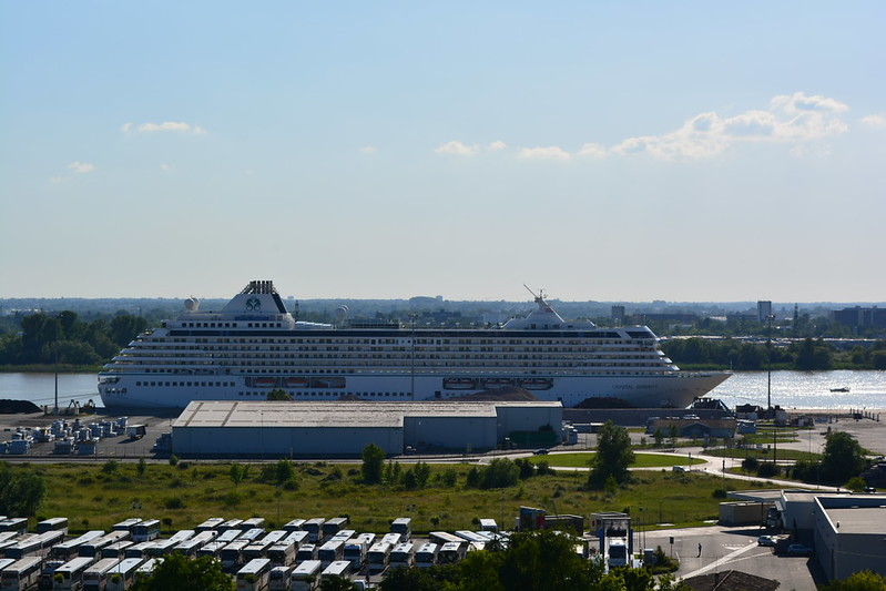 Le paquebot CRYSTAL SERENITY - Port de Bordeaux / Bassens - 05 juin 2013