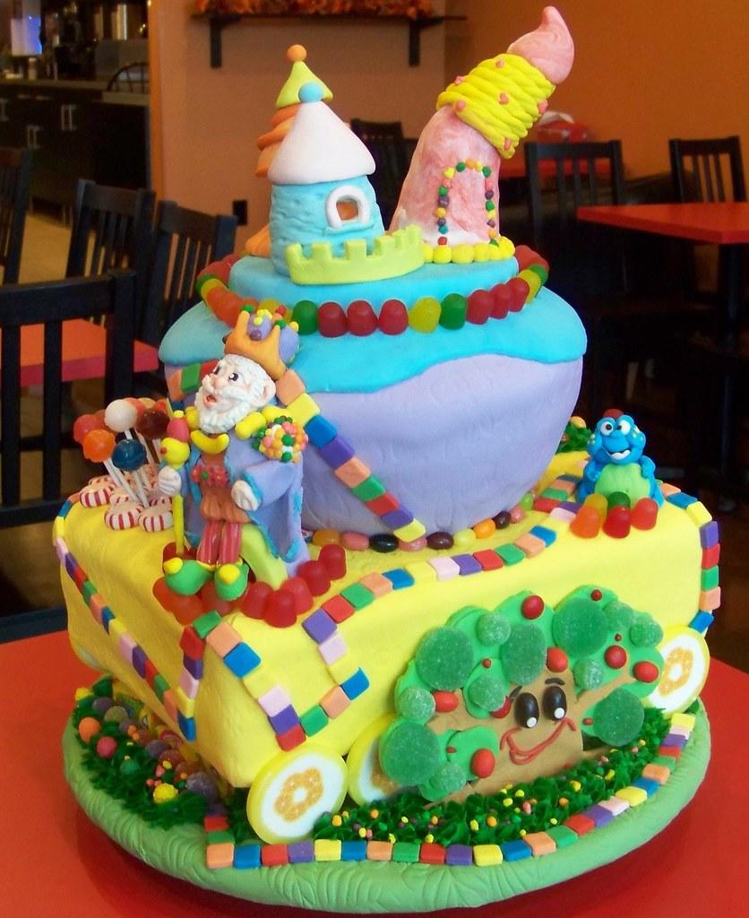 Prime Candyland Birthday Cake The Cake Zone Florida The Cake Zone Birthday Cards Printable Opercafe Filternl