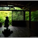 Little boy statue, Kozan-ji temple (高山寺), Kyoto