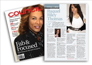 Raquel Riley Thomas Council Magazine Article Winter 2010 | by raquelrileythomas
