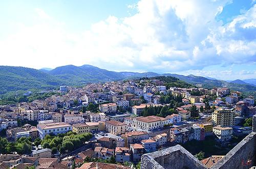 panorama basilicata moliterno valdagri