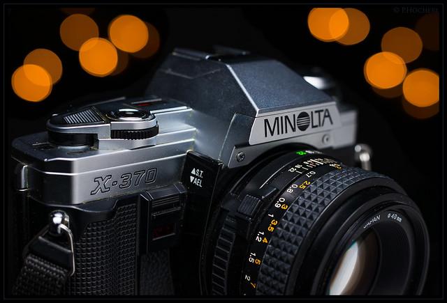einfach und alt: Minolta X-370
