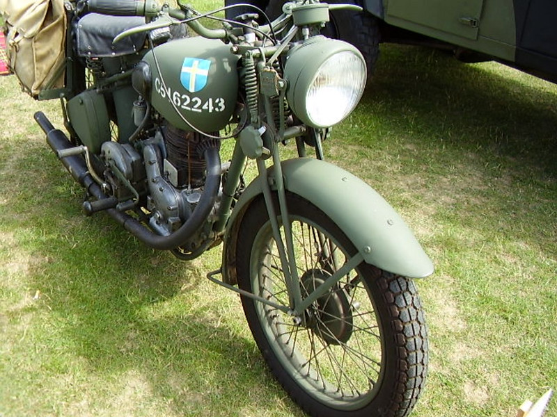 Norton (WD)16H Motorcycle (11)