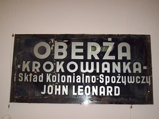 Tavern And Grocery >> Polish Graphic Design Late 1930 S Tavern And Grocery Sign