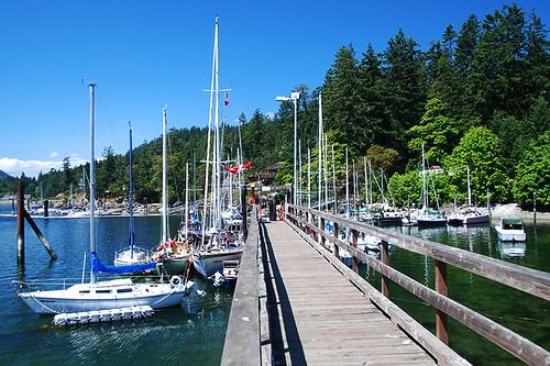 Fulford Harbour, Saltspring Island, Gulf Islands, Georgia Strait, British Columbia, Canada
