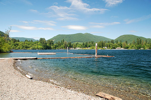 Gordon Bay Park, Honeymoon Bay, Cowichan Lake, Cowichan Valley, Vancouver Island, British Columbia, Canada