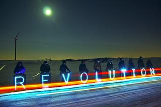 Filming Under Moon | by Overpass Light Brigade