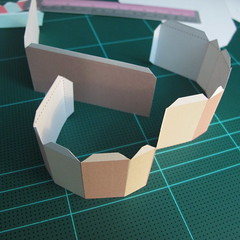 วิธีทำโมเดลกระดาษเป็นกล่องของขวัญรูปหัวใจ (Heart Box Papercraft Model) 003