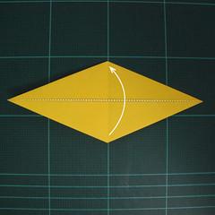 การพับกระดาษเป็นรูปไก่ (Origami Rooster) 003