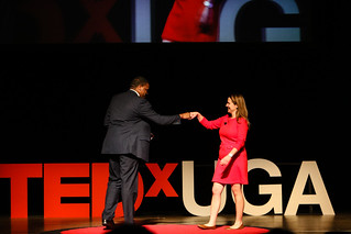 Johnelle Simpson & Leah Carmichael @ TEDxUGA 2017: Spectrum | by New Media Institute
