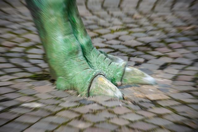 Crossing dinosaurs