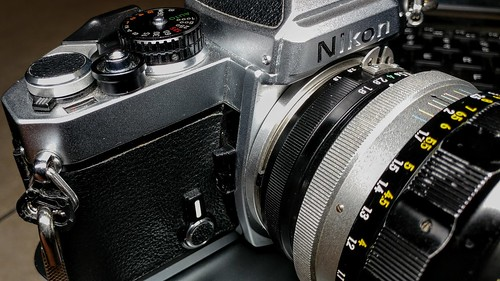 Nikon FE | by ericlwoods