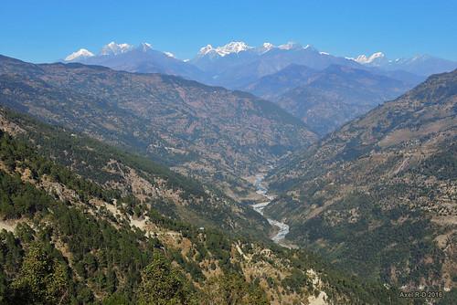 dudhkoshiriver merapeak montagnes nepal préci panchan rivière solukhumbu