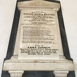 Memorial to Sarah-Maria Buxton and Anna Gurney