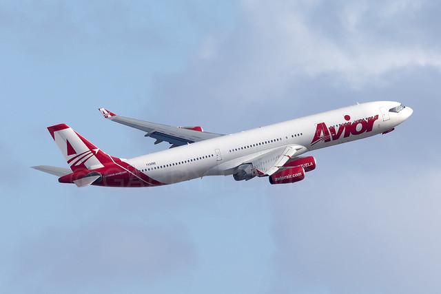 Avior Airbus A340-300 YV3292 [MIA]
