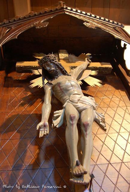 Cristo de la mano tendida