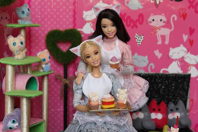 Barbie cat-cafe