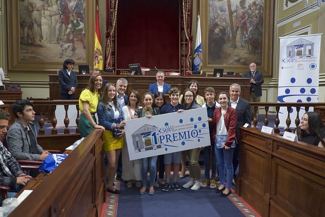 Fase final I Concurso Regional de Debate Escolar (28/04/2017)