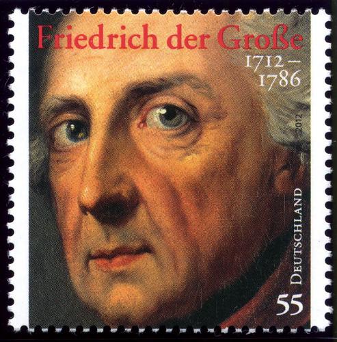 Deutschland 2012 - Friedrich der Große | by Alfredo Liverani - stamps