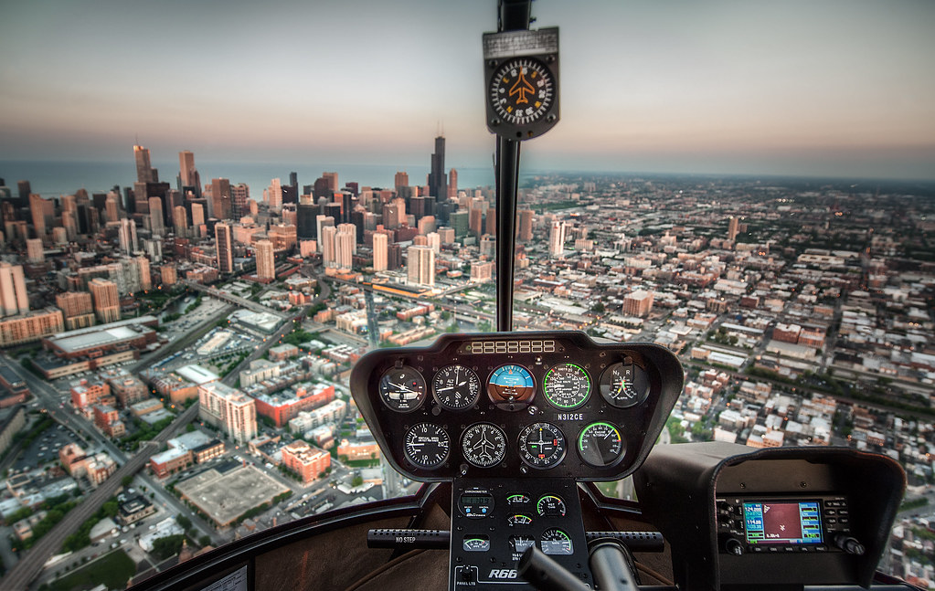 Helicopter Over Chicago | Throughout my photography career, … | Flickr