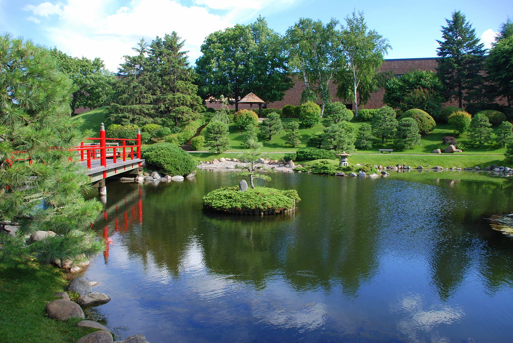 Japanese Garden - Normandale Community College, Bloomington, MN -024 | by haimanti.