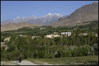 Village & Hindu Kush, Afghanistan © Bernard Grua 2013