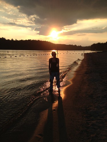 lighting sunset lake me water colors silhouette lakejamesstatepark