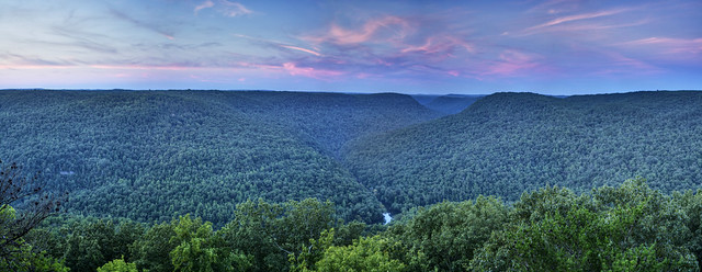 Scott Pinnacle, Latimer High Adventure Reservation, White Co, TN