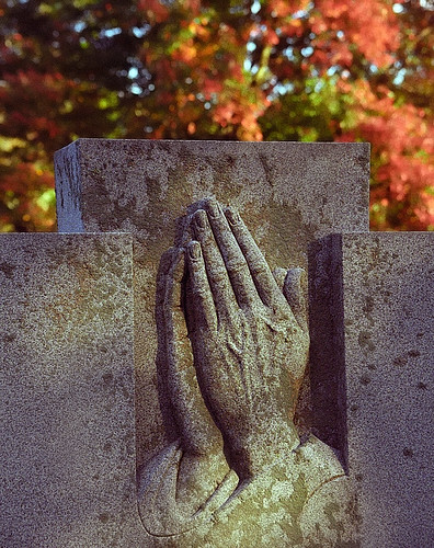 "Cincinnati - Spring Grove Cemetery & Arboretum ""Praying Hands""' 