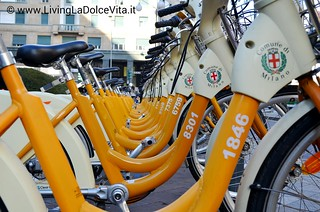 City bikes in Milano | by daggy72