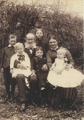 Morton family, c 1890