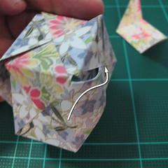 การพับกระดาษเป็นรูปเรขาคณิตทรงลูกบาศก์แบบแยกชิ้นประกอบ (Modular Origami Cube) 025