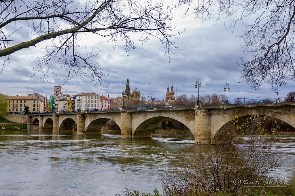 Puente de Piedra - Logroño | El Puente de Piedra de Logroño … | Flickr