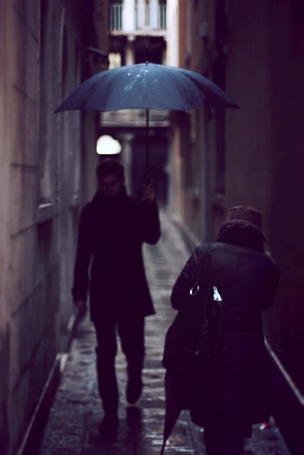 A rainy day in Venice...